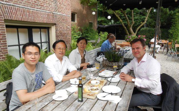 Meeting at huize Frankendael.